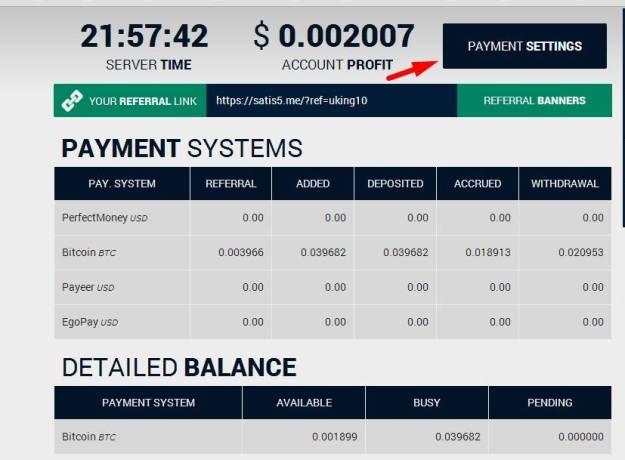 cara setting pembayaran satis5