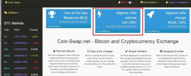 daftar coin swap