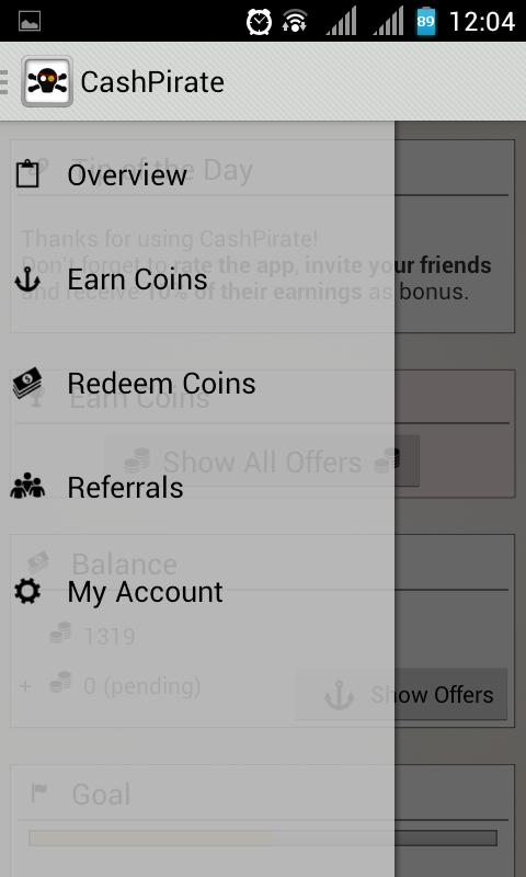 cara mencari uang dengan aplikasi android dan iphone cashpirate