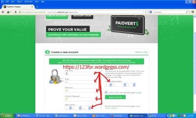 cara daftar paidverts dan menghasilkan uang