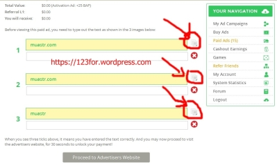 uang online dengan paid to click paidverts