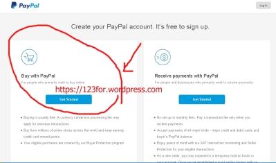 membuat akun PayPal reguler