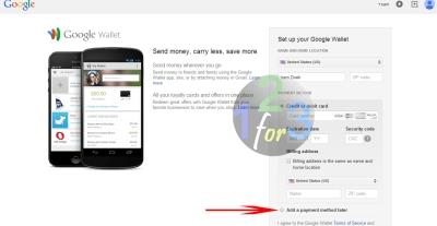cara membuat google wallet