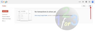 cara setting alamat google wallet