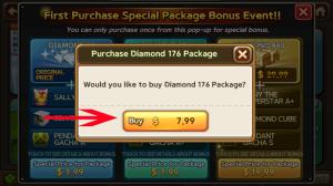 pembelian diamond lets get rich dengan code redeem dari whaff