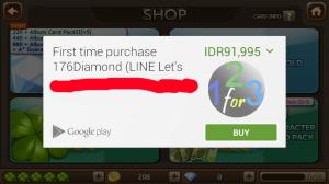 beli diamond let get rich dengan google wallet