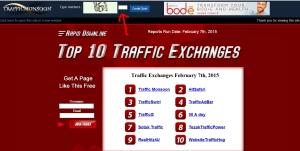 cara dapat uang dollar gratis di trafficmonsoon