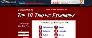 dollar gratis dari trafficmonsoon